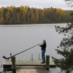 Dörte Aller - Insel in See Finland 2012