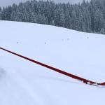Jeune joueur de Swiss Carbon Alphorn (6 ans) - Suisse - 2013