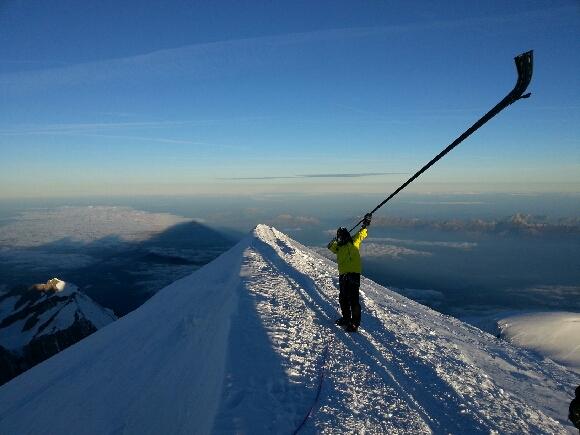 alexandre jous mont blanc 2013