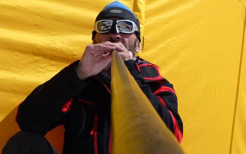 everest cor des alpes record Herbert Gielesberger