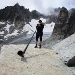 musique de glacier sur le col de la furka en suisse
