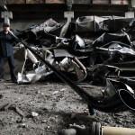 demolition-sound dans une usine abîmée