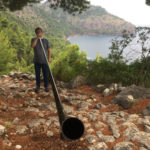 Swiss carbon Alphorn in Mallorca - Spain