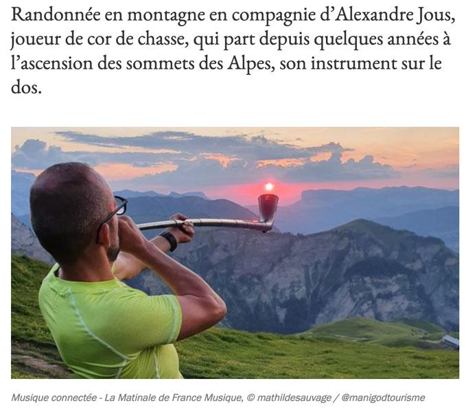 Alexandre Jous France Musique